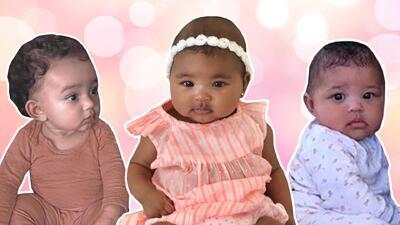 Kim muestra juntas (por primera vez) a las tres bebés Kardashian
