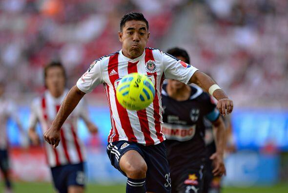 En el último encuentro ante Monterrey el volante no se hizo presente en...