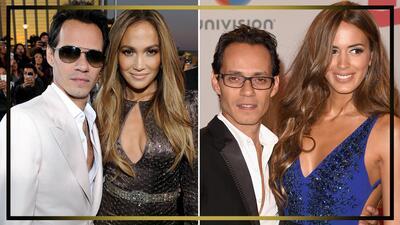 Ellas son los amores que Marc Anthony llevó a los premios Latin GRAMMY