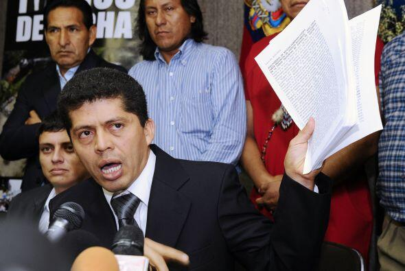 La Asamblea mostró  documentos en los que se detallá que en las héctarea...