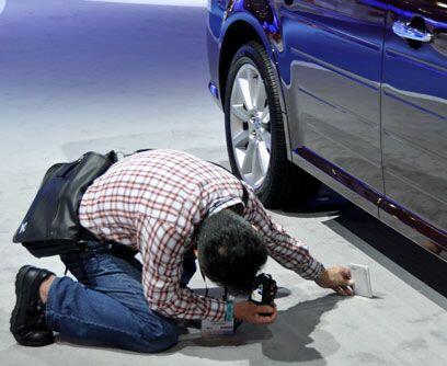 ¿Periodista o espía?La próxima vez que le vea cierto parecido a un auto...
