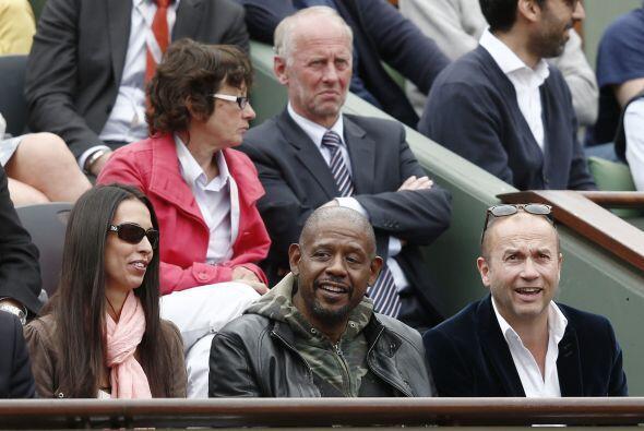 No es la única estrella de Hollywood aficionada a la raqueta, pues tambi...