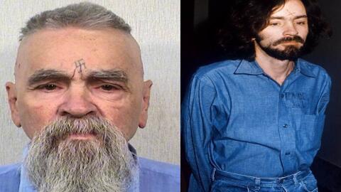 Charles Manson fue condenado en 1971 como autor intelectual de siete ase...