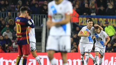 El Deportivo sacó un empate ante Barcelona con Camp Nou