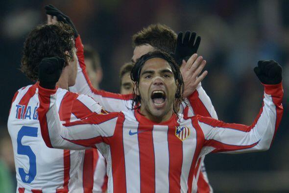 El delantero 'cafetero' está en las filas del Atlético de Madrid, a las...