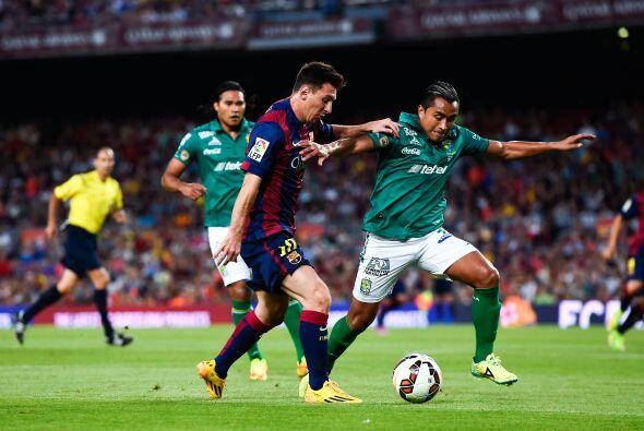 Messi era una constante pesadilla para el equipo conocido también como L...