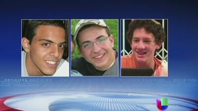 En Israel encuentran muertos a los tres adolescentes secuestrados en Cis...