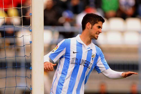 Pese a que algunas de sus figuras estaban en el campo, el Málaga no pudo...