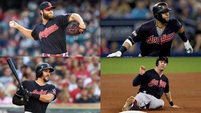 Roster de Ios Cleveland Indians para la Serie Mundial