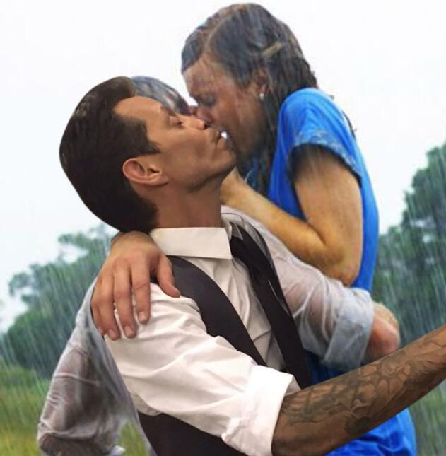 Marc Anthony se besa con hombres para justificar su beso con J.Lo, e int...