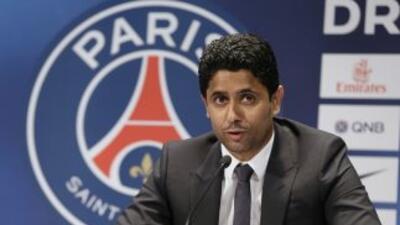 El multimillonario Nasser al-Jelaifi reiteró la ambición del club parisi...