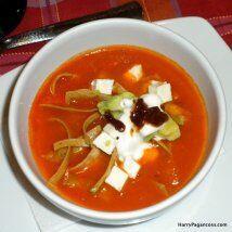 Sopa azteca tropical: Harry Pagancoss da su versión de la sopa az...