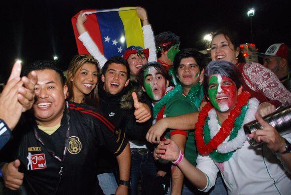 Finalmente, venezolanos y mexicanos demostraron que nos une el idioma, n...