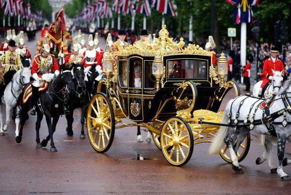 Su creador se desplazó a Londres para asistir al primer viaje de la rein...