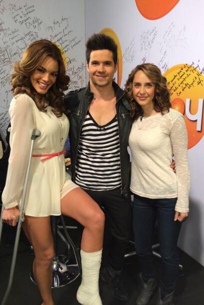 """La ex Miss Universo está en riesgo de participar en """"Bailando por un sue..."""
