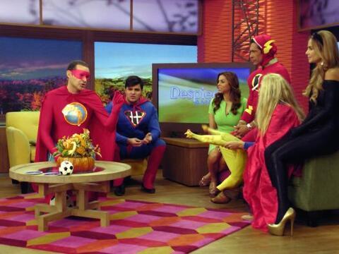 Esta mañana, los Superhéroes nos hicieron reír a ca...