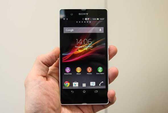 El Sony Xperia Z fue el primer smartphone a nivel mundial con procesamie...