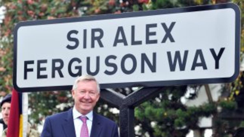 Un nuevo honor que se rinde al ex técnico de los 'Red Devils', una calle...