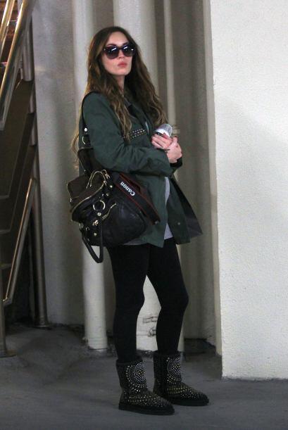 Por otro lado, Megan Fox es una embarazada totalmente 'chic' que durante...