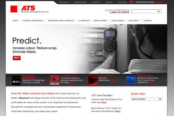 ADVANCE TECHNOLOGY SERVICES Cantidad de puestos disponibles: 1,000+. Eje...
