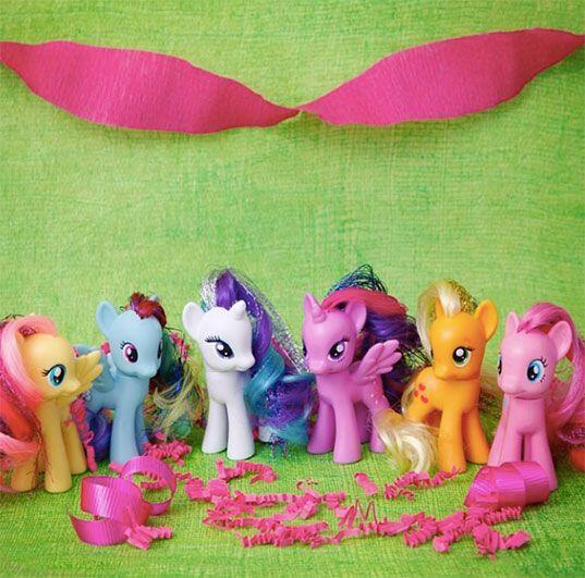 Un clásico. Y por supuesto, los Pequeños Pony, ¡jamás pasan de moda! Enc...