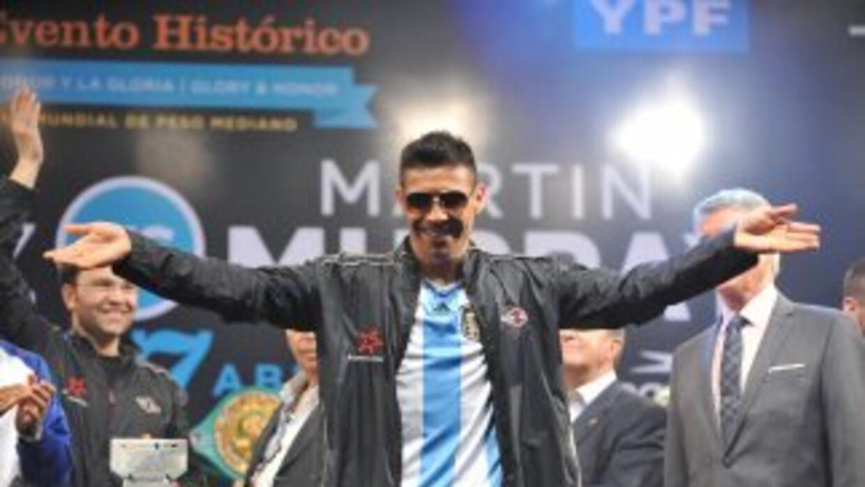 'Maravilla' Martínez prometió una 'carniceria' contra Cotto.