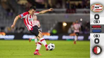 PSV y el 'Chucky' Lozano pierden la Supercopa de Holanda en muerte súbita