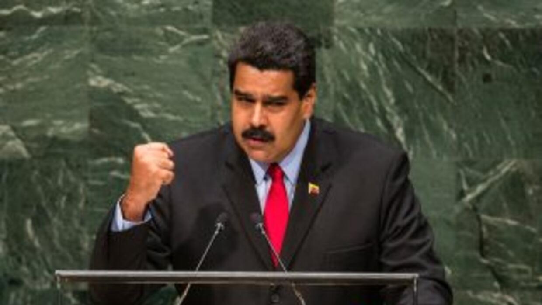 Nicolás Maduro en la ONU.
