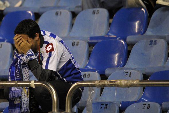 Pero nada comparado con las lágrimas que le causaron a la afición deport...