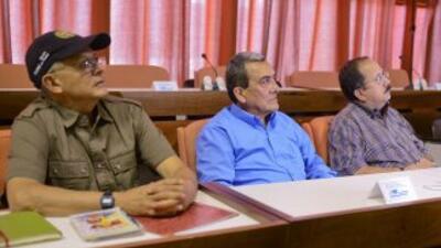 Algunos de los negociadores formaron parte de la delegación que ya estuv...