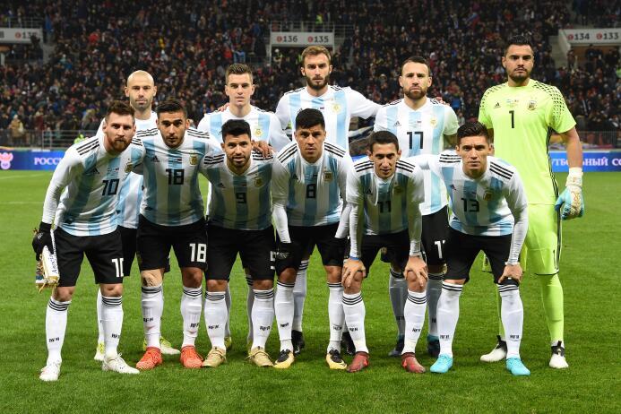 4. Argentina (Conmebol) - 1,348 puntos