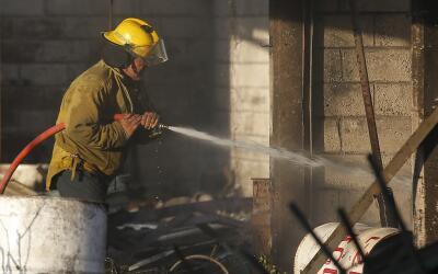 Es la tercera explosión en almacenes de pirotecnica de Tultepec e...