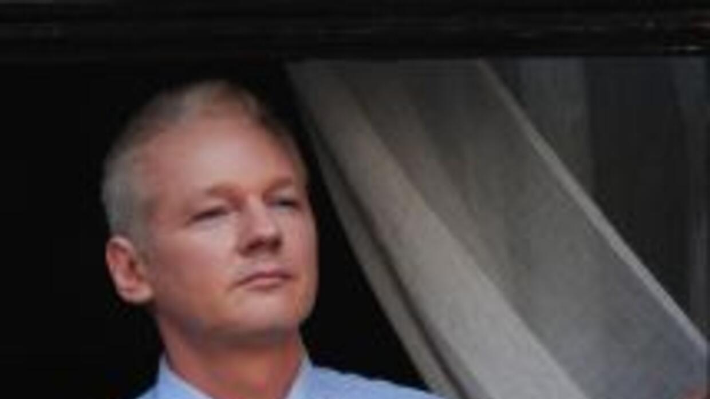 Julian Assange permanece en la Embajada de Ecuador en Londres.