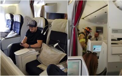 En video: Un iPad causa tremendo susto en avión donde viajaba Luis Fonsi