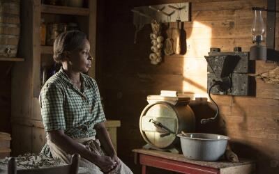 Mary J. Blige appears as character 'Florence Jackson' in 'Mudbound.' Bli...