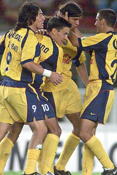 En 2002, nuevamente América logró llegar hasta semifinales de la Copa Li...