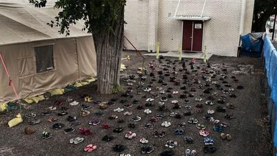 La fotógrafa de los zapatos de los inmigrantes