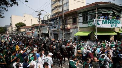 Detienen a 26 barristas con armas, dinero y móviles durante operativo en Brasil