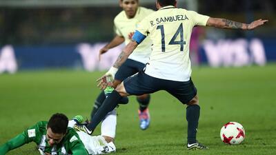 La derrota de América ante Atlético Nacional en imágenes