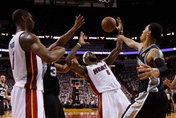 La clave fue la ventaja de nueve puntos que Miami le sacó a San Antonio...