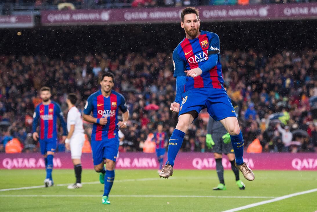 2. Lionel Messi (Barcelona) - La 'pulga' lleva esta temporada de...