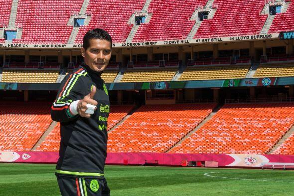 Edgar Melitón Hernández también tuvo oportunidad de ensayar con sus comp...