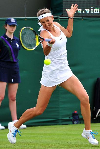 La bielorrusa y cuarta favorita para coronarse en Wimbledon, Victoria Az...