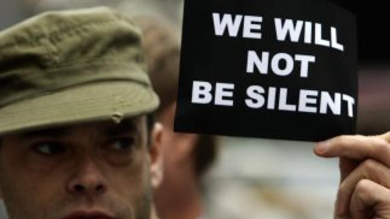 Los homosexuales siguen siendo motivo de discordia entre los infantes de...