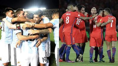 Argentina y Chile, los dos grandes ganadores de la jornada en Conmebol