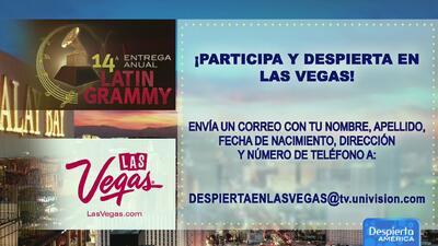 Gánate un viaje y Despierta en Las Vegas