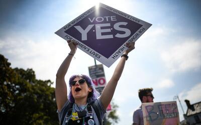 """Todo parece indicar que el """"sí"""" se impuso. En la imagen..."""