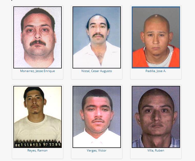 Los más buscados del LAPD