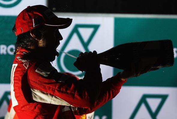 Alonso celebró su 5ta. victoria de la temporada y parece encaminado a su...