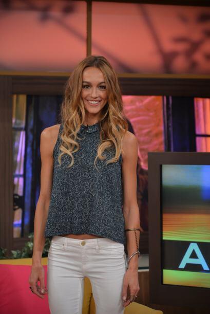 La actriz australiana llegó a Despierta América para contarnos todo sobr...